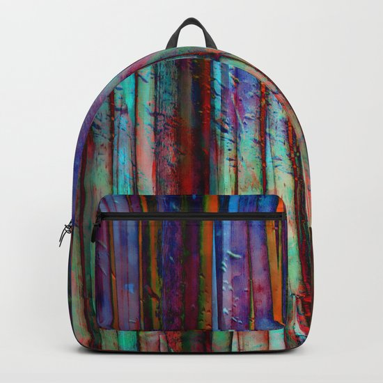 Colored Bamboo 2 Backpack