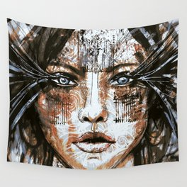 Gate Princess Wall Tapestry