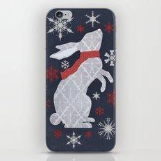 Winter Rabbit iPhone & iPod Skin