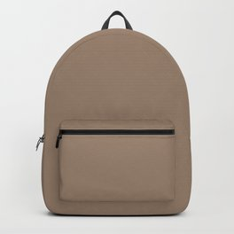 Christmas Woodland Bronzed Brown Backpack