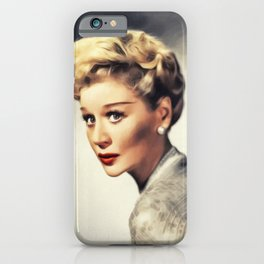 Margaret Leighton, Vintage Actress iPhone Case