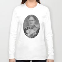 dwight schrute Long Sleeve T-shirts featuring Kaiser Dwight by ThePencilClub