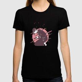 Harakiri woman japanese samurai woman T-shirt