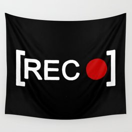 Record button - [REC] Wall Tapestry