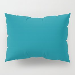 Teal Solid Pillow Sham