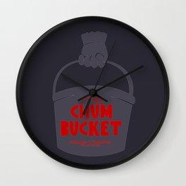 Chum Bucket Wall Clock