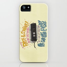 GROUNDHOGGIN' Y'ALL iPhone Case
