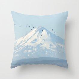 """Shasta"" by Murray Bolesta! Throw Pillow"