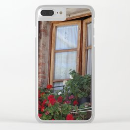 Window in Rome Clear iPhone Case