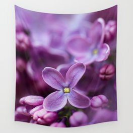 Purple Lilac Wall Tapestry