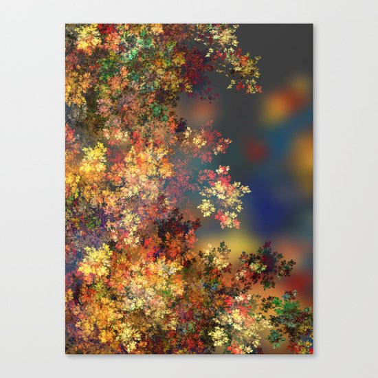 A Beautiful Summer Afternoon Canvas Print