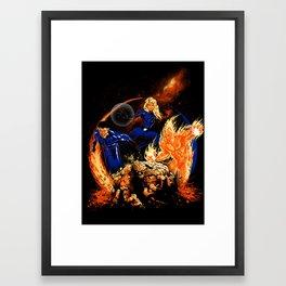 The Powers of Four Framed Art Print