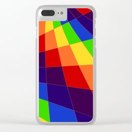 "ROY G Biv - ""Another Look"" Clear iPhone Case"