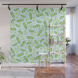 sweet peas Wall Mural
