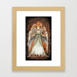 One is a Bird [ Over The Garden Wall ] Framed Art Print