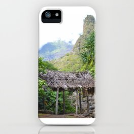 Ioa Valley, Maui iPhone Case