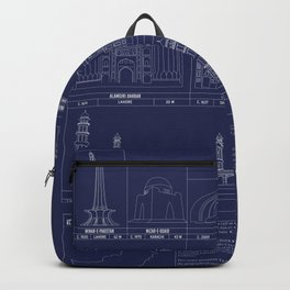 The Architecture of Pakistan Backpack