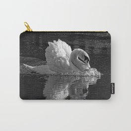 Aggressive Beauty (B&W) Carry-All Pouch