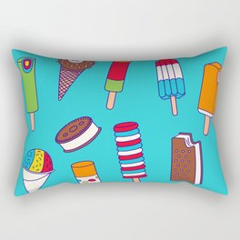 Ice Cream Truck Rectangular Pillow