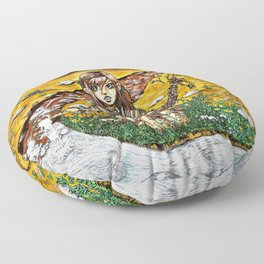 mother nature Floor Pillow