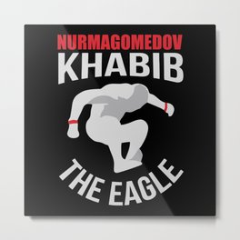 Khabib The Eagle Metal Print