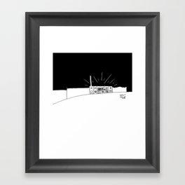 Memorial Hill Framed Art Print