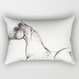 Arabian horse Rectangular Pillow