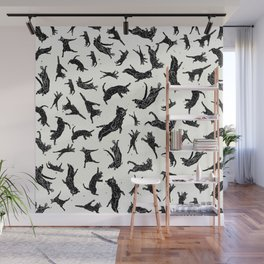 Shadow Cats Space Wall Mural