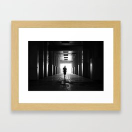 Second Floor Framed Art Print