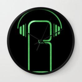 Ricci Barros logotype Wall Clock