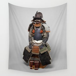 Historical Samurai Armor Photograph (18th Century) Wall Tapestry