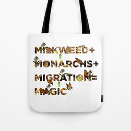 Monarch Magic Tote Bag