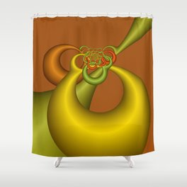 fractal geometry -151- Shower Curtain