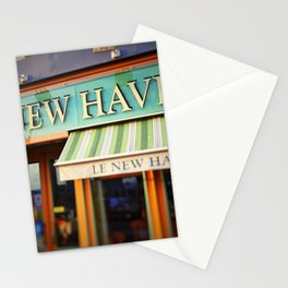 Le New Haven Restaurant Stationery Cards