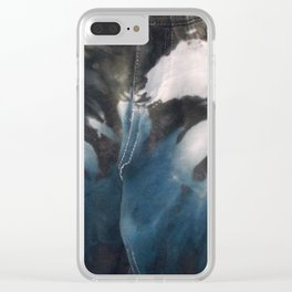 Blue Skys Clear iPhone Case