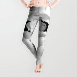 Gardenia Black and White Leggings