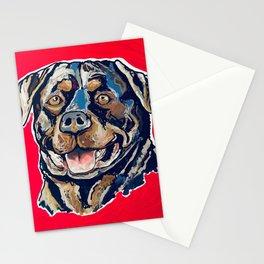 A Rottweiler Named Samson Stationery Cards