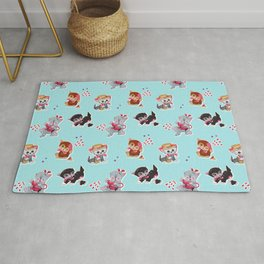 Zombie Cats Rug