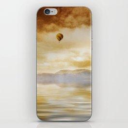 Hot Air Balloon Escape iPhone Skin