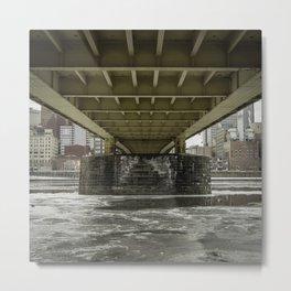 Pittsburgh Underbelly Metal Print