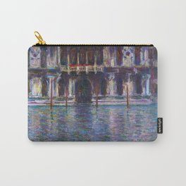 Palazzo Contarini by Claude Monet Carry-All Pouch