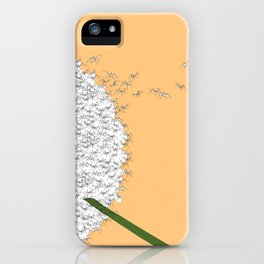 Flying ants iPhone Case