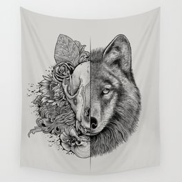 New Wolf (Half Life) Wall Tapestry
