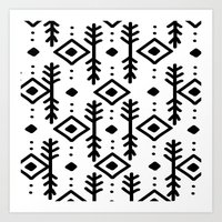 nordic Art Prints featuring NORDIC by Nika