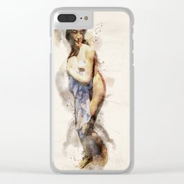 FromTheBath I Clear iPhone Case