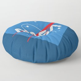 NASA Love Floor Pillow