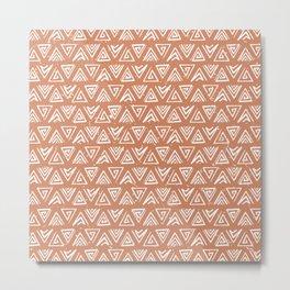 Maui'd | terracotta Metal Print