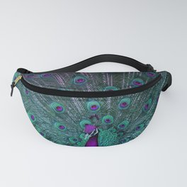 BLOOMING PEACOCK Fanny Pack