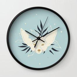 Magical Desert Fox Wall Clock