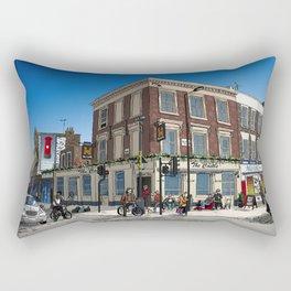 London Blue Sky Rectangular Pillow